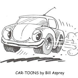Bill Asprey B&W Cartoons